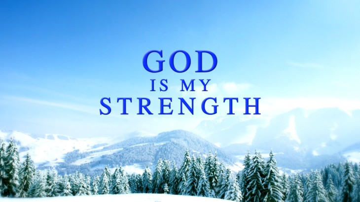 God is my strenght