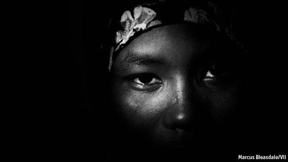 Rape as a weapon of war.
